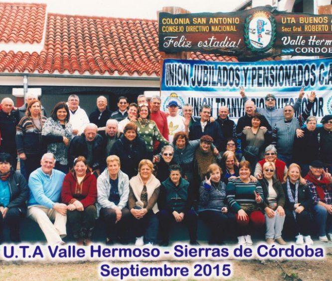 UTA Jubilados / Valle Hermoso / Córdoba